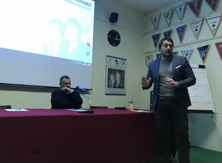 """Il Presidente Giancola in visita alla sezione di Teramo, """"chi sceglie di essere arbitro, non sbaglia mai""""."""