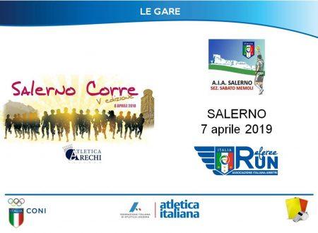 Il 7 Aprile a Salerno la RefereeRUN