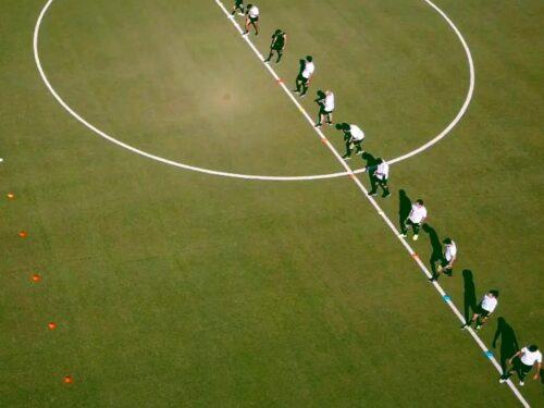 Sulla griglia di partenza i colleghi del Futsal